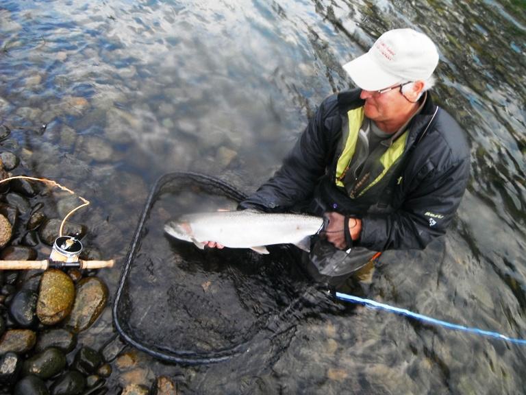 Fly fishing photos for Cowlitz river fishing