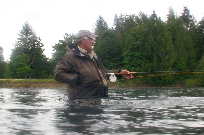 Mike sturza fly fishing guide service guiding the cowlitz for Cowlitz river fishing