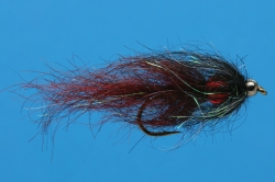 Black BeadHead JR's BB Leech - Product Image