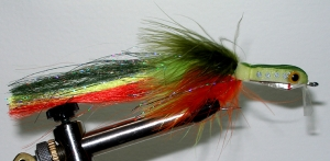 Bill's B.P. Musky Fly-Chartreuse - Product Image