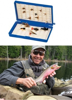 Lake Selection Flies + Bug Luggage Fly Box - Product Image