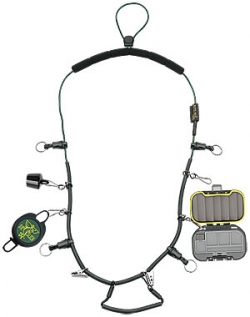 Dr. Slick Fisherman's Necklace Lanyard w/Tippet Spool Caddy - Product Image