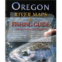 Oregon River Map & Fishing Guide - Product Image