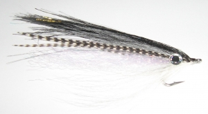 Couch's Baitfish Fly - Black - Product Image