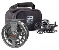 Lamson Liquid 3-Pack Fly Fishing Reel & Spools - Product Image