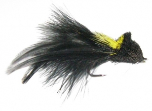 Badger Tail Diver - Yellow/Black   - Product Image