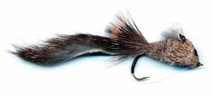 Rabbit Tail Diver Fly - Natural - Product Image