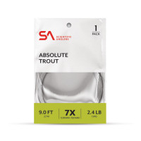 Scientific Anglers ABSOLUTE TROUT 1-PACK, FRESHWATER TAPERED LEADER - Product Image