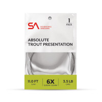 Scientific Anglers ABSOLUTE TROUT PRESENTATION, FRESHWATER TAPERED LEADER - Product Image